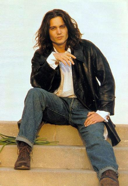 Johnny Depp ~~ Beautiful Cherokee Indian. I knew there was something I loved about him!