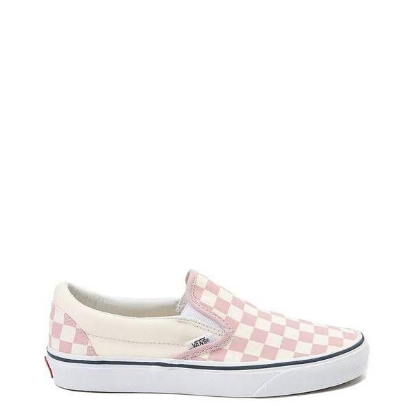 Chex Skate Shoe - pink | Vans slip on
