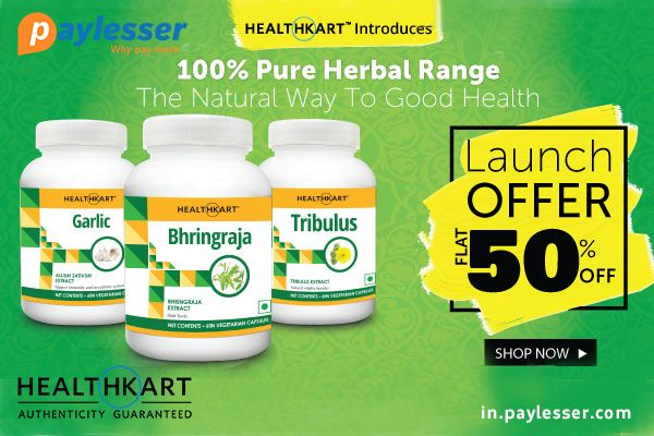 Buy Vitamin Supplements offerd from top brands and save your budget upto 50% on them. #Healthkart #Offer #paylesser  Why pay more?