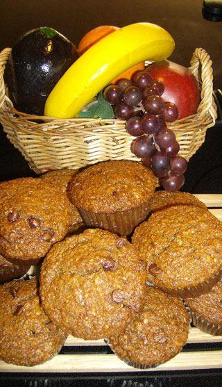 Délicieux muffins aux bananes