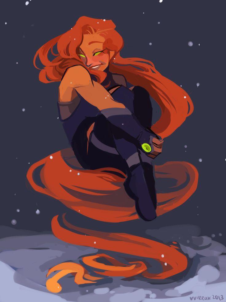 My Art Fanart Raven Starfire Donna Troy Runmonsterun -6167
