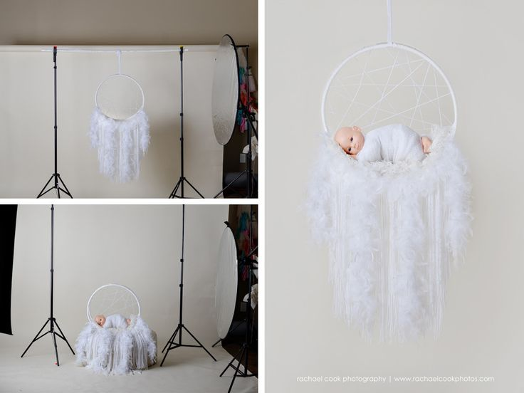 DIY Newborn Dreamcatcher Prop