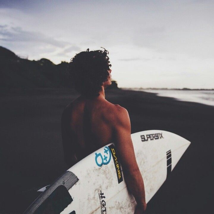 "((Open RP, Jack) I walk out with my board ""going surfing? The waves are like…"