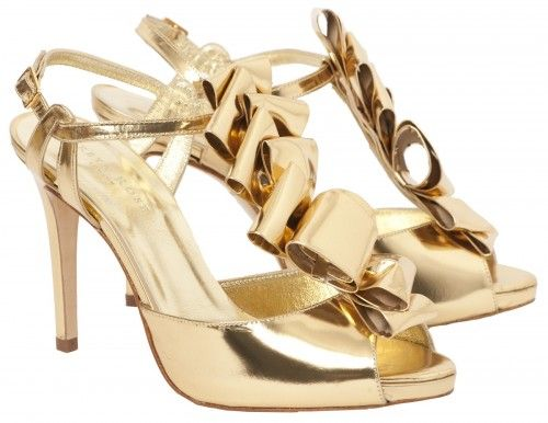 gold-wedding-shoes-glamours