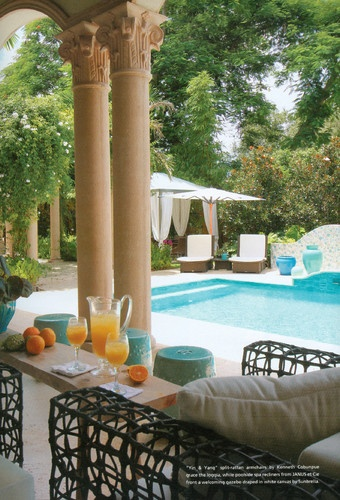 1000 ideas about tropical pool on pinterest garden pool for Miami vice pool design