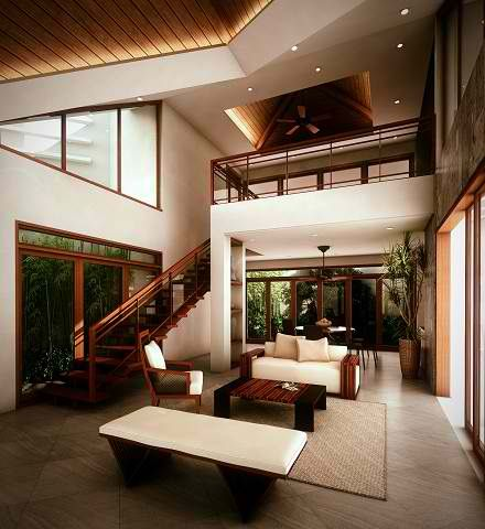 Bamboo Ceiling Ideas Interior Design