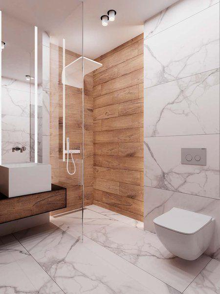 10 salles de bains en marbre qui vous laisseront … en pierre!