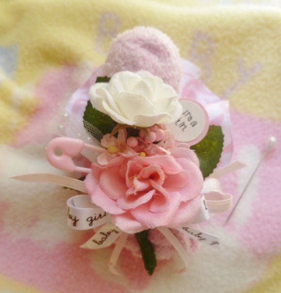 baby shower corsage mom to be corsage baby by mollbelldesigns