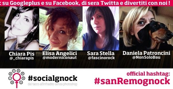 #socialgnock of the week: le #sanremognock! http://www.stilefemminile.it/socialgnock-of-the-week-le-sanremognock/