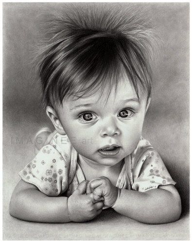 Baby drawing
