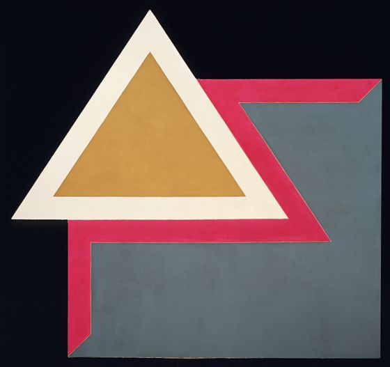 Frank Stella, Chocorua 1, 1965-66, Acrylic on canvas