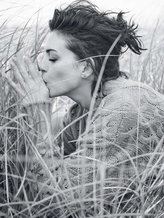 Anne Hathaway – Glamour UK Magazine (October 2015) - Daily Actress