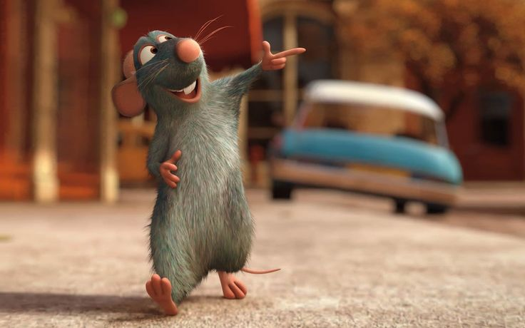 streets movies Ratatouille animation rats