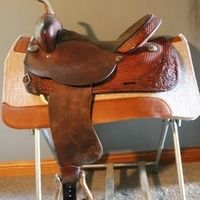 "15"" Hereford Barrel Saddle for sale in Stanchfield, Minnesota :: HorseClicks"