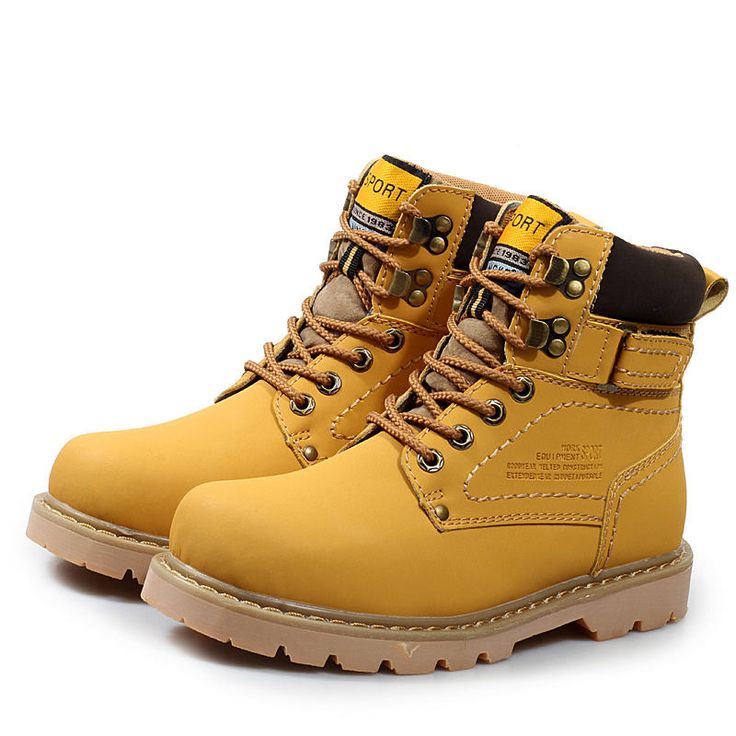 Spring,Autumn,Winter Ankle Martin Boots Fashionable Outdoor Shoes For Women,Men Snow Boots Warm Waterproof Durable Footwear EUR Size 36~46