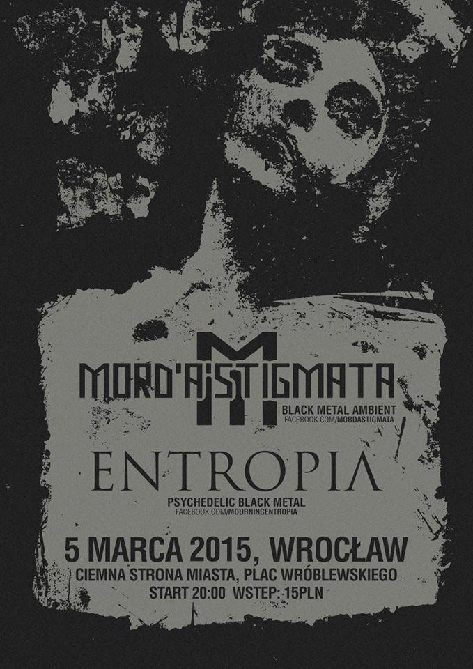 5.03.2015 Ciemna Strona Miasta Klub Muzyczny Wrocław Koncert: https://www.facebook.com/events/1822300094660834/