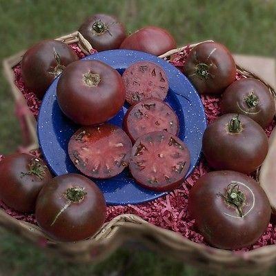 100+ Tomato Cherokee Purple Vegetable Seeds - Under The Sun Seeds  - 2