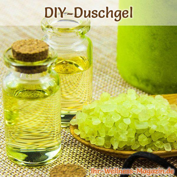 Duschgel selber machen - Duschgel Rezept für Duschgel für Neurodermitis ...