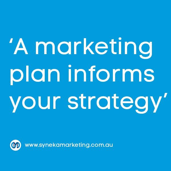 Strategy Before Tactics – the very foundation of marketing - https://www.synekamarketing.com.au/2016/09/strategy-tactics-foundation-marketing/