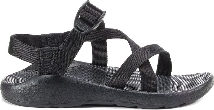Black Chaco Yampa Sandal- NO toe loop size 8 women's