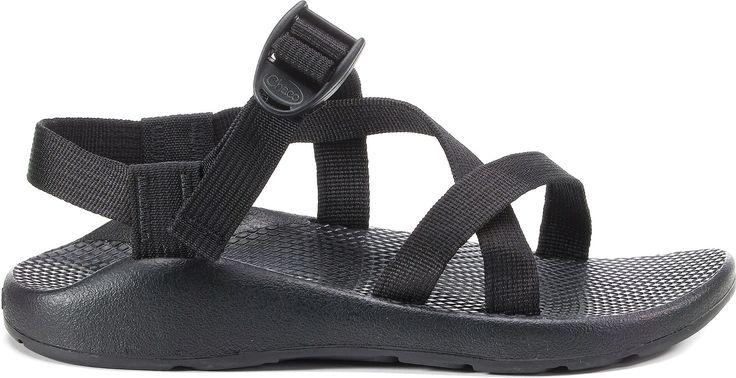 Black Chaco Yampa Sandal- NO toe loop size 8  women's