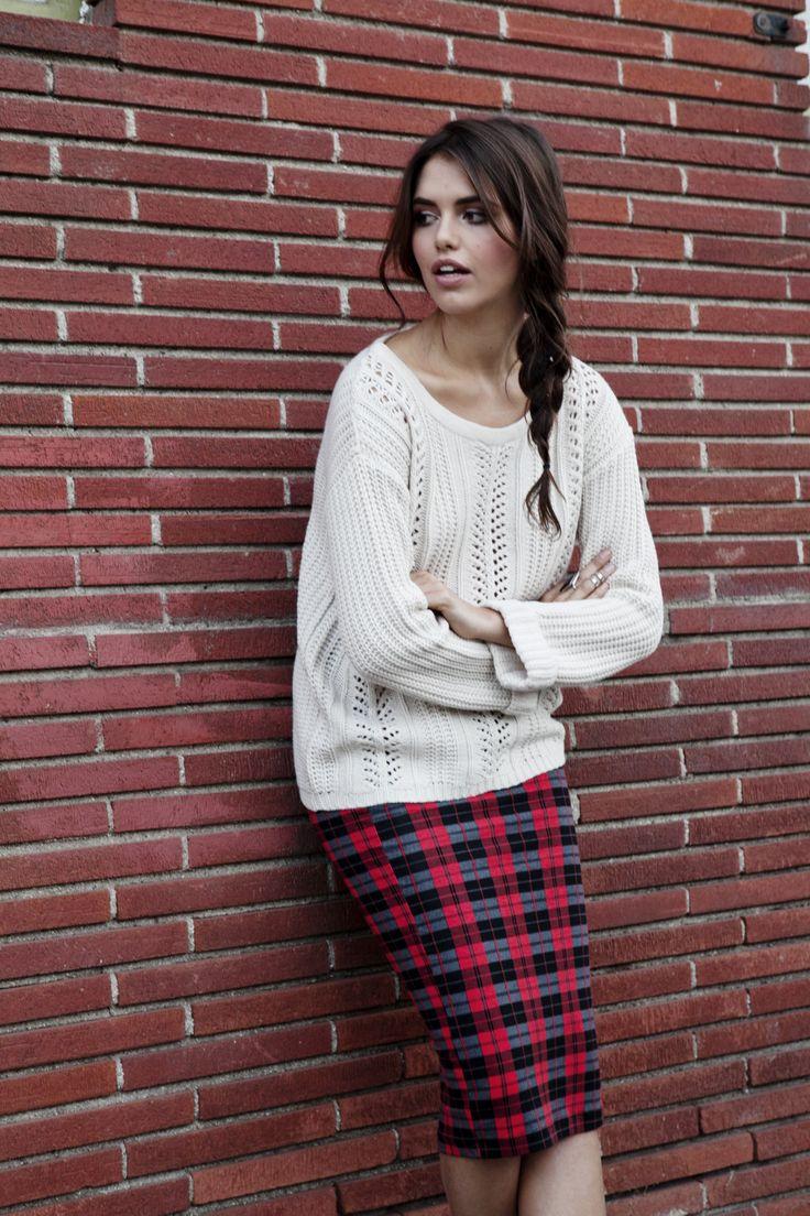 17 Best ideas about Plaid Pencil Skirt on Pinterest   Long skirt ...