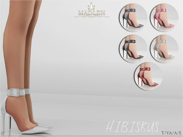 Madlen Hibiskus Shoes by MJ95 at TSR • Sims 4 Updates