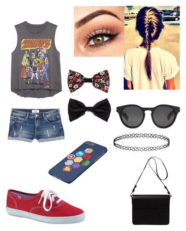 """Random Avengers Outfit :)"" by mely-carrasco ❤ liked on Polyvore"