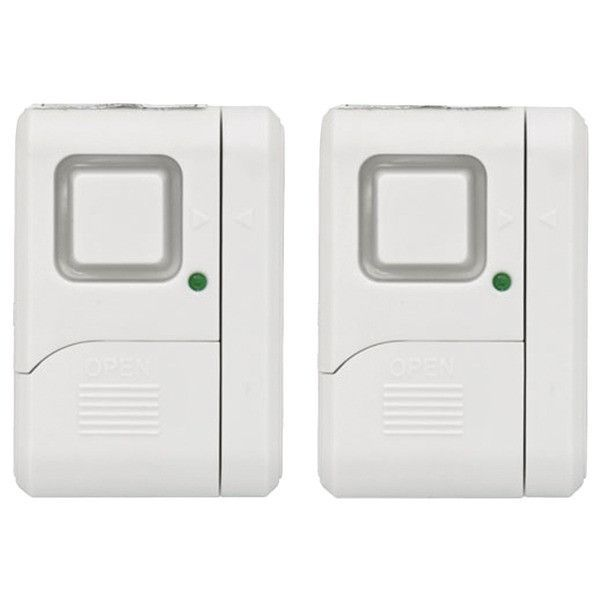 GE 45115 Wireless Window Alarms, 2 pk