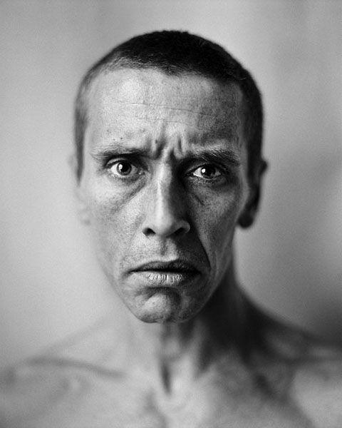 Sam Dillemans (1965) - Belgian painter. Photo © Stephan Vanfleteren