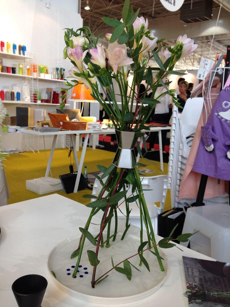 Maison&Objet 2014   SungUn Chang design, Seoul   FVF Flower Vase Freedom