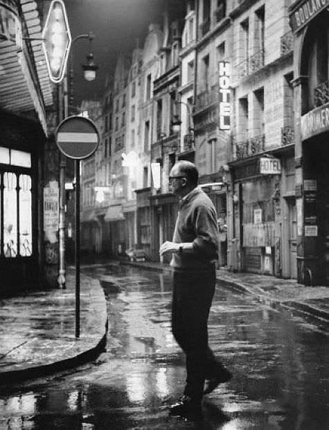 """Director Billy Wilder on a  Soundstage for """"Irma la Douce"""" (1963)"""