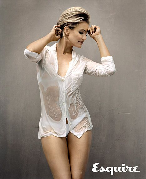 Cameron Diaz poses for the August 2014 issue of Esquire