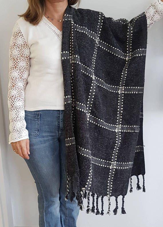 Clothing Gift Tribal Scarf Tartan Scarf Gift for Women Gift