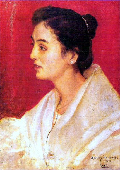 Mi Hermana   by Juan Luna