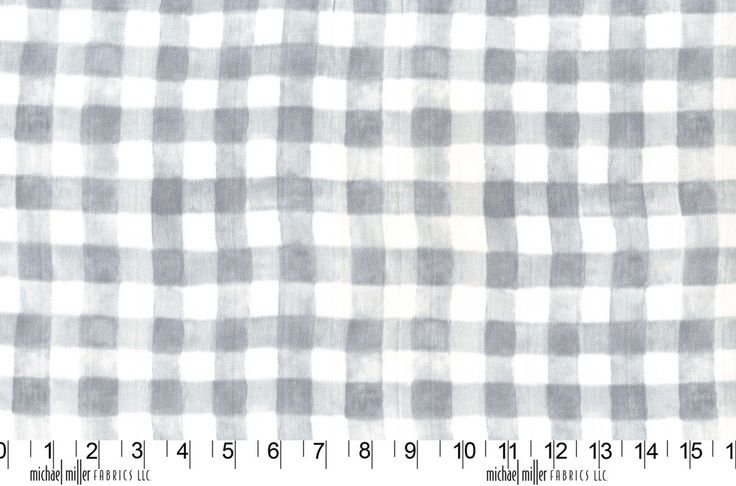 Mini Printed Gingham MMDZ7063GRAY http://www.eqsuk.com/products/fabrics/designer-fabrics/b/michael-miller/michael-miller-double-gauze/7636  www.eqsuk.com/stockist #MMF #EQS