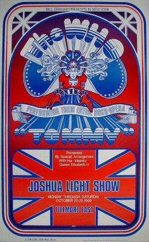 The Who Poster - Rock posters, concert posters, and vintage posters from the Fillmore, Fillmore East, Winterland, Grande Ballroom, Armadillo World Headquarters, The Ark, The Bank, Kaleidoscope Club, Shrine Auditorium and Avalon Ballroom.