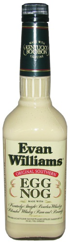 evan williams eggnog.....Land's