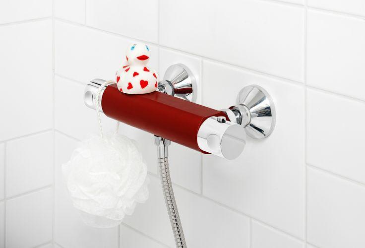Duschblandare från vår Coloric serie, i färgen Passionate Red. | GUSTAVSBERG