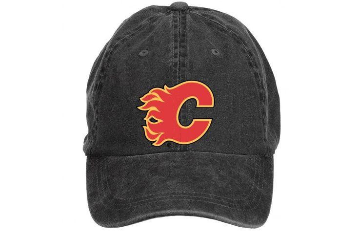 #CalgaryFlames #Cap #CalgaryFlames #Hat #OfficialCalgaryFlames #caps #CalgaryFlamesFans #hats Calgary Flames Primary Logo Hat Adult Adjustable Baseball Cap Onesize