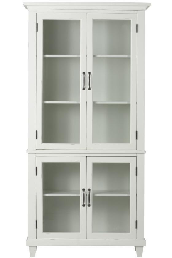 Martin Glass Bookcase From Home Decorators