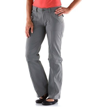 Innovative  Hiking Outfit REI Sahara Convertible Pants With NoSit Zips  Women39s