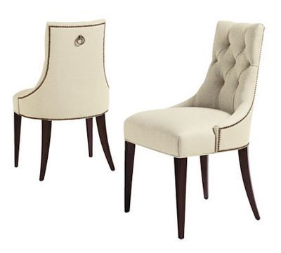 Martine upholstered arm chair - to place at head of table