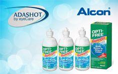 3 תמיסות רב-תכליתיות לעדשות רכות עם מרכיב לחות מוגבר  Opti-Free Replenish של  Alcon ב- 129 ₪ בלבד