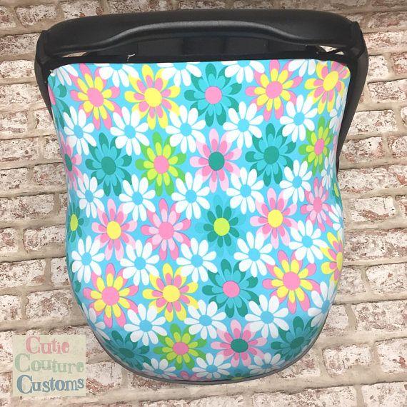 Car Seat #Hood, #MaxiCosi, #CarSeat #Cover, #Daisy, #CutieCoutureCustoms, Sun #Canopy, Handmade, Baby #Sunshade, #Baby #Boy #Girl, #Capsule #Cover