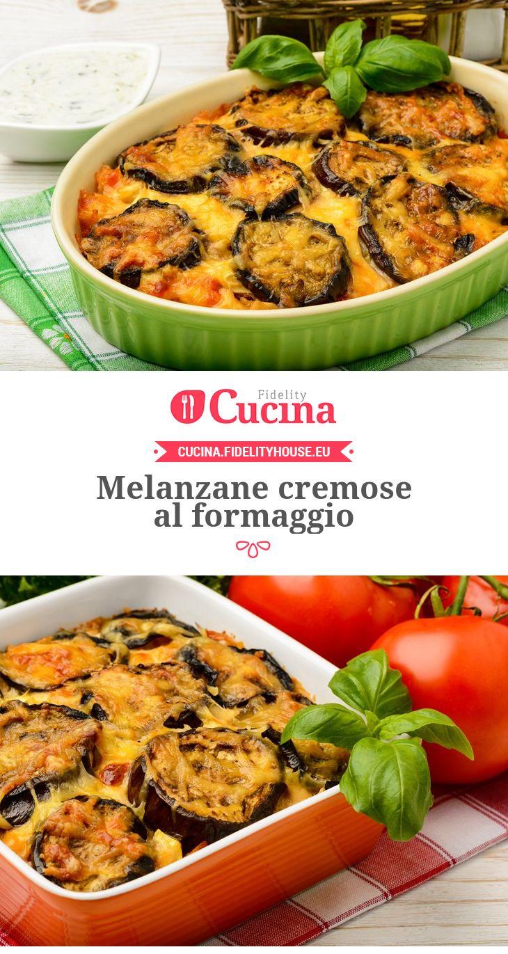 #Melanzane cremose al #formaggio