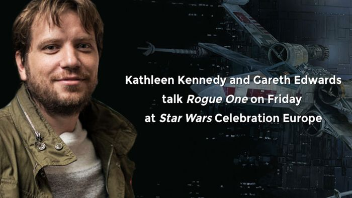 """KATHLEEN KENNEDY AND GARETH EDWARDS TO ATTEND STAR WARS CELEBRATION EUROPE The president of Lucasfilm will be joined by the director of Rogue One for an Opening Day Event at the massive fan gathering this July! """"Secret mission? What plans? What are..."""