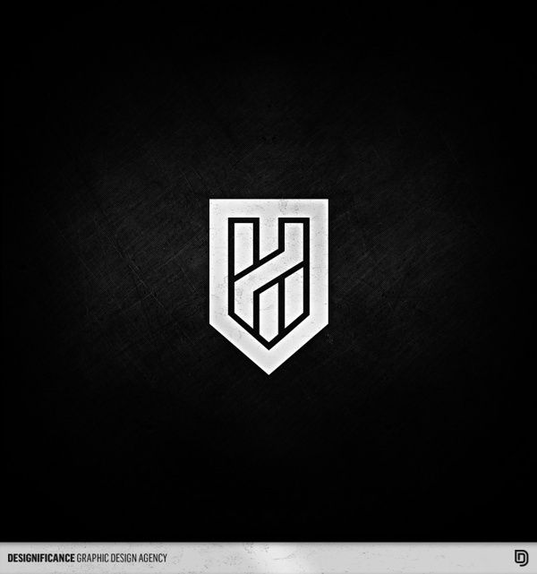 H Shield  by Peter Designificance
