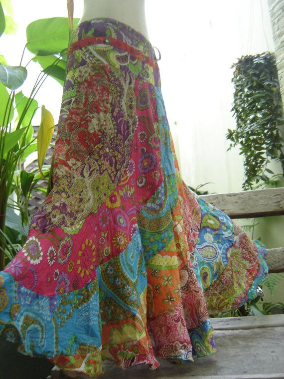 Hippie skirt!