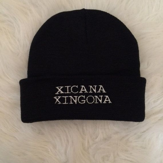The XICANA XINGONA Beanie by ShopDRTY on Etsy mexican feminist